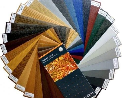تنوع رنگ پنجره های  دو جداره در کرج